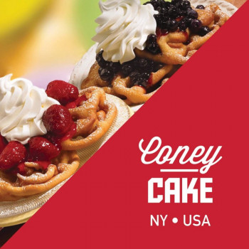 Liquid State Vapors - Coney Cake (New York) e Liquid 10ml
