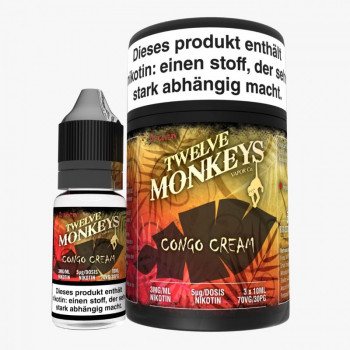 Twelve Monkeys Congo Cream 3x10ml Multipack e Liquid