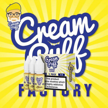 Banana 3x10ml Mulitpack e Liquid by Cream Puff Factory