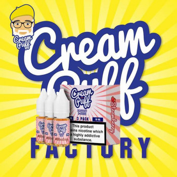 Strawberry 3x10ml Mulitpack e Liquid by Cream Puff Factory