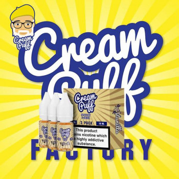 Vanilla 3x10ml Mulitpack e Liquid by Cream Puff Factory