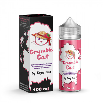 Crumble Cat 100ml e Liquid by Copy Cat