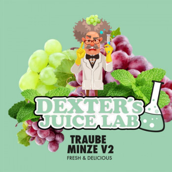 Dexter Aroma Traube Minze V2 10ml Aroma
