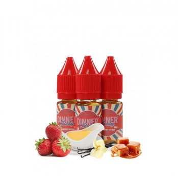 Strawberry Custard by Dinner Lady e Liquid 3x10ml