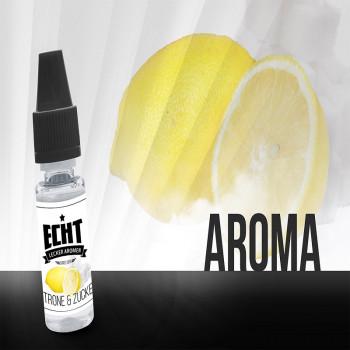 Echt Aroma 10ml Zitrone & Zucker