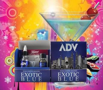 Fantasi Aroma ADV Exotic Blue Ready to Shake 30 ml