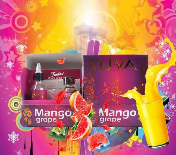 Fantasi Aroma UAV Mango Grape Ready to Shake 30 ml
