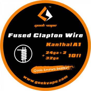 GeekVape Fused Clapton KA1 24*2 + 32GA (3,30€/1m)