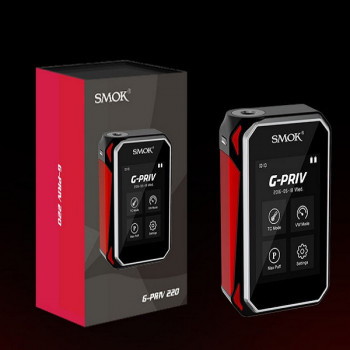 SMOK G-PRIV 220Watt Touch Screen Akkuträger