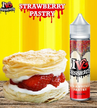 Strawberry Pastry (50ml) Plus e Liquid by I like VG Desserts