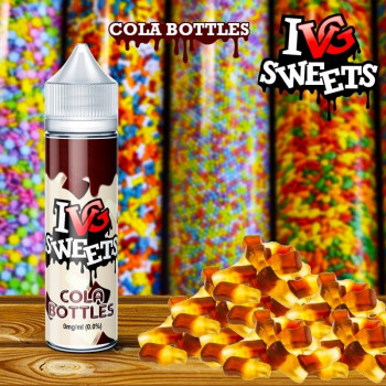 Cola Bottles (50ml) Plus e Liquid by I like VG Sweets