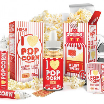 I LOVE POPCORN eLiquid by Mad Hatter Juice