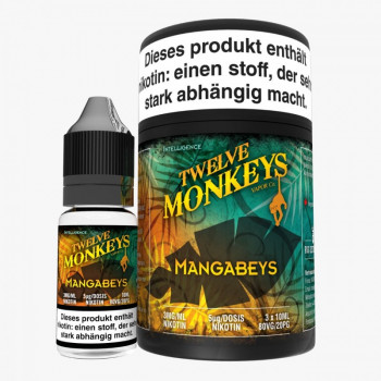 Twelve Monkeys Mangabeys 3x10ml Multipack e Liquid