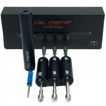 Coil Master Coiling Kit V3 - 6 in 1 Coiler