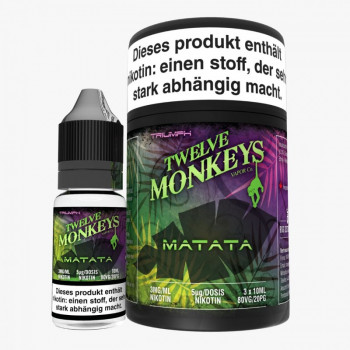 Twelve Monkeys Matata 3x10ml Multipack e Liquid