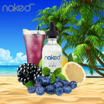 Naked 100 - Very Berry 50ml Plus e Liquid