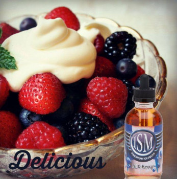 ISM Vape e-Liquid NillaBerry