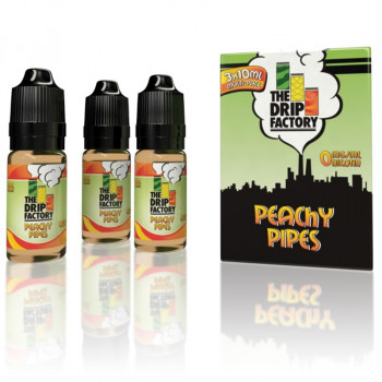 Drip Factory Peachy Pipes 3x10ml