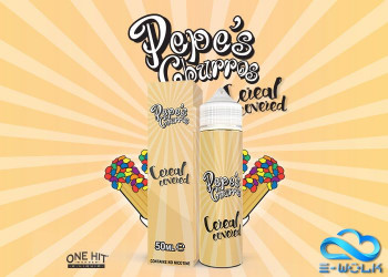 Cereal Covered (50ml) Plus e Liquid by Pepe's Churros