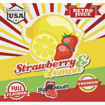 Big Mouth Aroma Retro Juice Strawberry Lemon 10ml