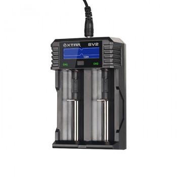Xtar Rocket SV2 Schnellladegerät für Li-Ion und NIMH Akkus
