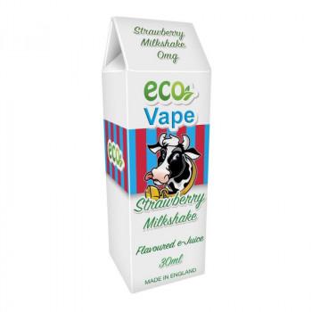 Strawberry Milkshake Drip Juice e Liquid by Eco Vape