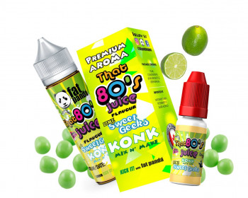 KONK Mix'n Vape That`s 80`s LIME SWEET GEEKS Aroma by Fogging Awesome