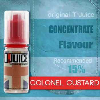 T-Juice Aroma 10ml Colonel Custard MHD 09/19
