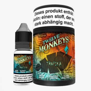 Twelve Monkeys Tropika 3x10ml Multipack e Liquid