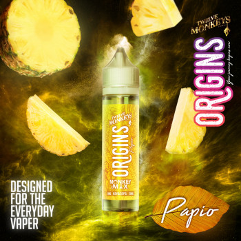 Papio (50ml) Plus e Liquid by Twelve Monkeys Origins