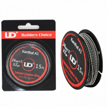 UD Twisted Clapton Coil Draht 2x26AWG + 32AWG (1,78€/pro m)