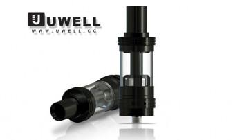 Uwell Crown Sub Ohm Verdampfer Schwarz / Silber