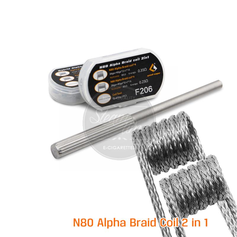 GeekVape N80 Alpha Braid Coil 2in1 Fertigwickelung-GEEVALBRN80GA ...